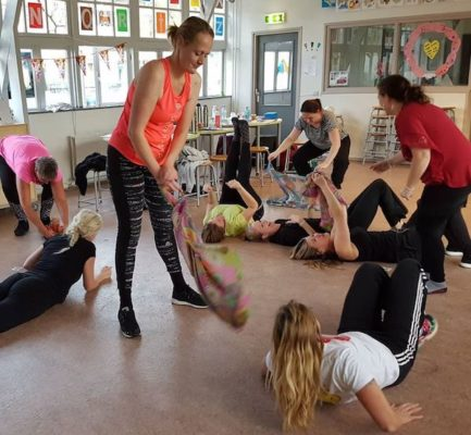 training kleuterdans imiteren